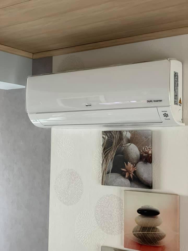 Installation de climatisation LG